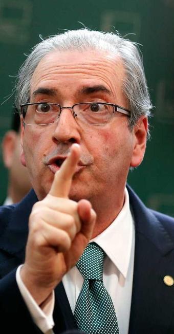 Eduardo Cunha, acuado, pode criar mais dificuldades para o governo - Foto: DIDA SAMPAIO/ESTADÃO CONTEÚDO