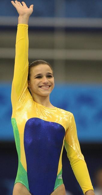 Jade substituirá Rebeca Andrade, que sofreu uma lesão no joelho - Foto: Carlos Casaes | Ag. A TARDE | 16.07.2007