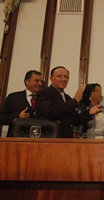 Kells Mendes (E) e Carlos Ubaldino (D) durante evento na Assembleia Legislativa da Bahia - Foto: Divulgação l AL-BA