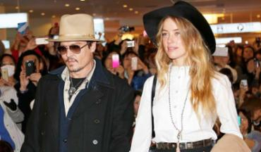 Johnny Depp foi acusado de violência doméstica por Amber Heard - Foto: Shizuo Kambayashi | AP Photo