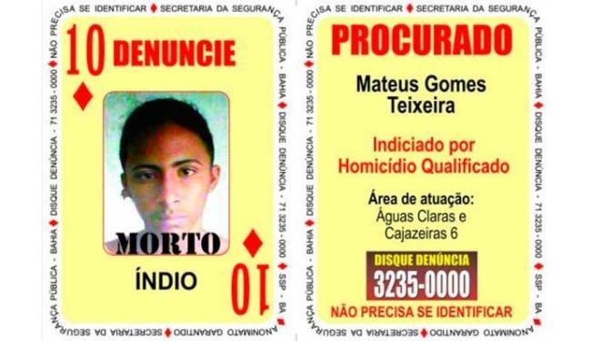 Índio morreu em troca de tiros com a polícia - Foto: Divulgação | SSP-BA