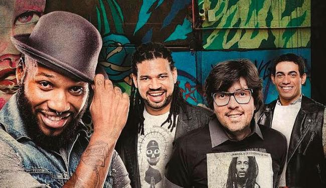 O grupo, que ganhou novo vocalista, apresenta novo repertório durante os shows - Foto: Divulgação