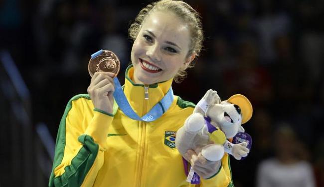 Angélica faturou a segunda medalha de bronze neste pan - Foto: Agência Reuters