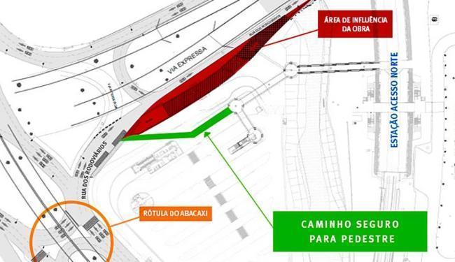 As obras devem terminar no final de setembro - Foto: Divulgação | CCR Metrô