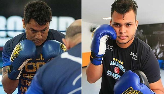 Popó treina para fim da aposentadoria. Já Igor prepara volta ao ringue - Foto: Divulgação | Edilson Lima / Ag. A TARDE