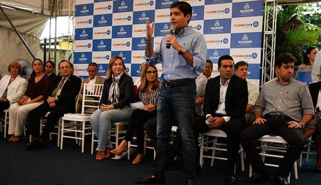 Prefeito fala sobre várias vertentes do programa de valorização da área histórica - Foto: Lúcio Távora l Ag. A TARDE