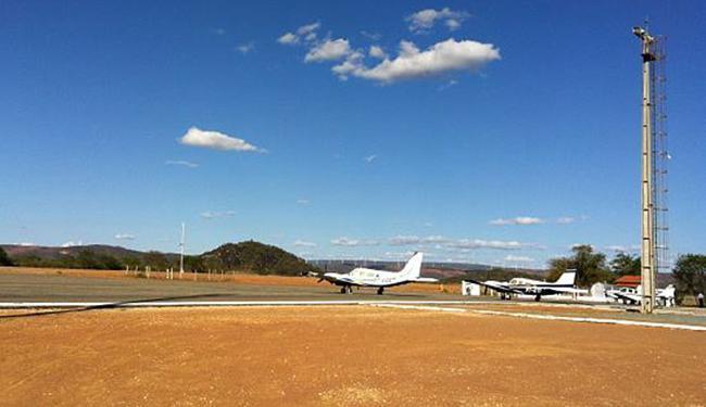 O aeroporto de Guanambi será o próximo a operar com voos regulares, segundo o secretário - Foto: Seinfra l Ascom