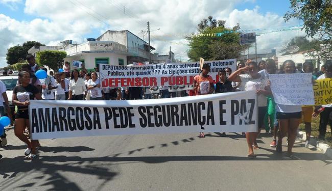 Morte de criança em ação policial gerou séria crise em Amargosa no ano passado - Foto: Reprodução   Site Amargosa Urgente