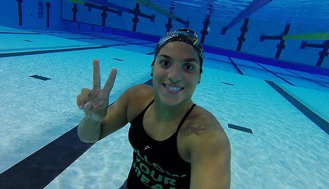 Nadadora baiana luta por vaga nos Jogos Olímpicos do Rio - Foto: Divulgação