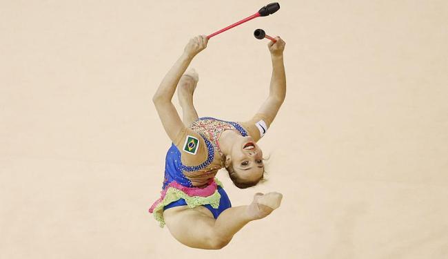 Ginasta sai do Pan com bronze nas modalidades fita e arco - Foto: Rob Schumacher | USA Today Sports | Reuters | 19.07.2015