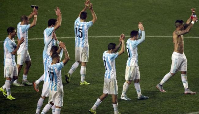 Argentina joga bem, e faz 6 a 1 no Paraguai - Foto: Agência Reuters