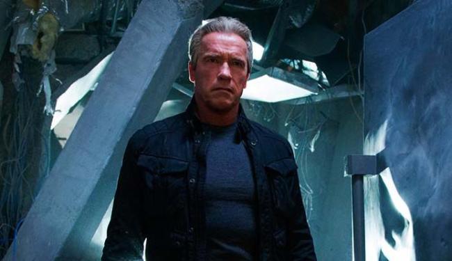 Ator esteve em mais um filme de O Exterminador do Futuro que foi lançado este ano - Foto: Divulgação