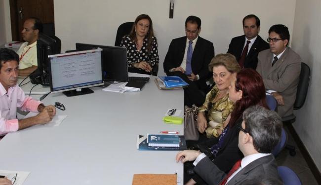 Primeira audiência para debater cobrança foi realizada na sede do MPT-BA nesta terça, 14 - Foto: MPT | Divulgação