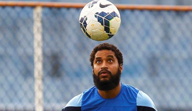 Por lesões no joelho, Ávine não joga há três anos - Foto: Eduardo Martins | Ag. A TARDE
