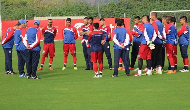 Bahia treina em Porto Alegre antes de viajar para Criciúma - Foto: EC Bahia   Divulgação