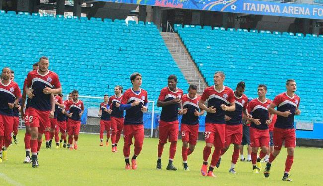Bahia terá três jogos em 15 dias contra o Paysandu; o primeiro, nesta terça, na Fonte Nova - Foto: Edilson Lima | Ag. A TARDE
