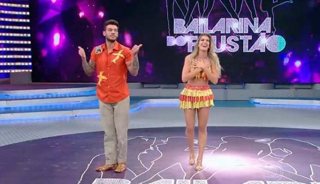 Lorena dançou com Lucas Lucco na grande final - Foto: Reprodução | GShow
