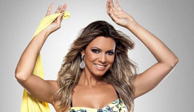 Vina Calmon é a vocalista da banda anfitriã - Foto: Divulgação
