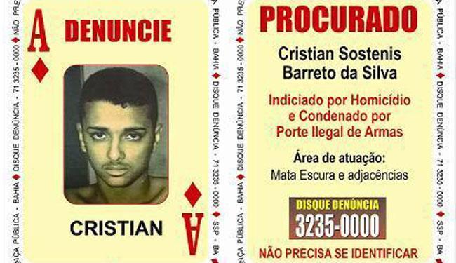 Cristian Sostenis Barreto da Silva é processado por diversos homicídios - Foto: Divulgação | SSP