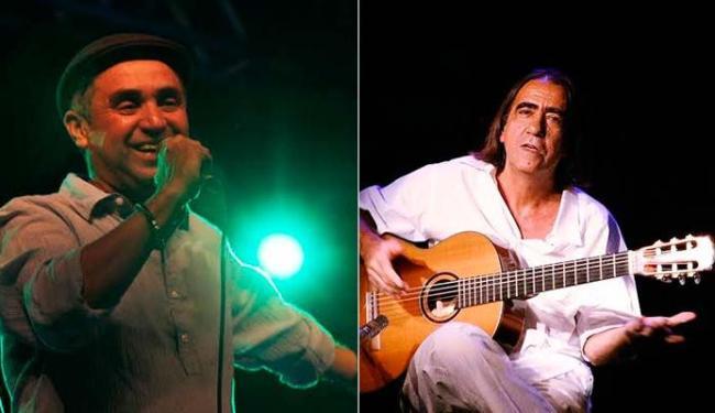 Carlos Pitta e Aderbal Duarte apresentam o show Bim Bom - Foto: Divulgação