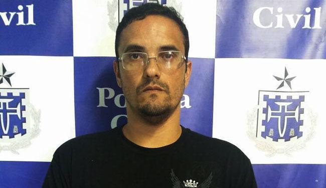 Bruno Castelar foi apresentado na 6ª DT/Brotas - Foto: Ascom | Polícia Civil