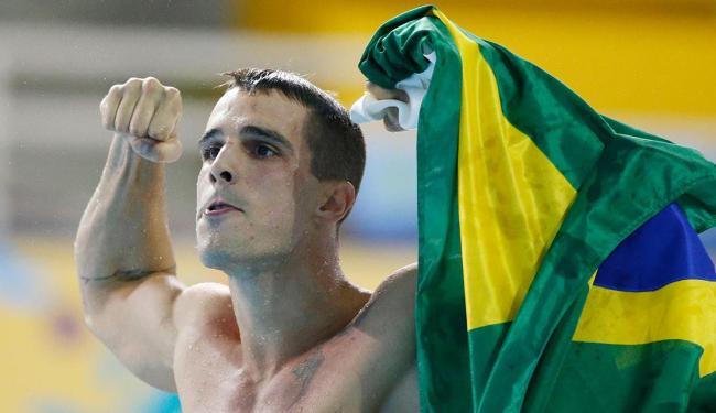 Bruno Fratus foi essencial na prova de recuperação ao mudar a estratégia - Foto: Agência Reuters
