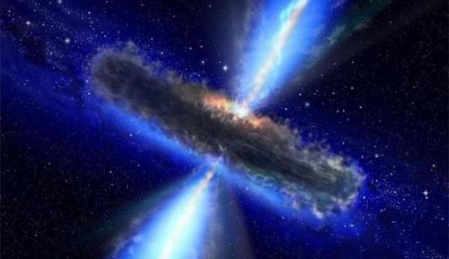 Descoberta só foi possível com o uso de telescópio de raio-X da Nasa - Foto: Divulgação l Nasa
