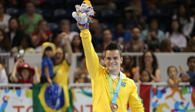 Brasil é apenas bronze na ginástica artística com Caio Souza - Foto: Matt Detrich-USA TODAY Sports | Reuters