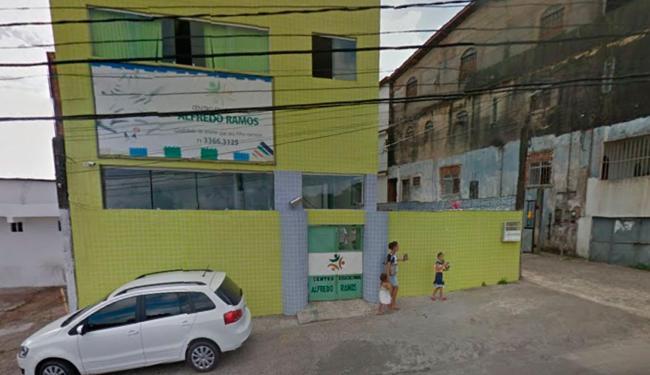 Crime aconteceu em frente a escola da criança - Foto: Reprodução | Google Maps