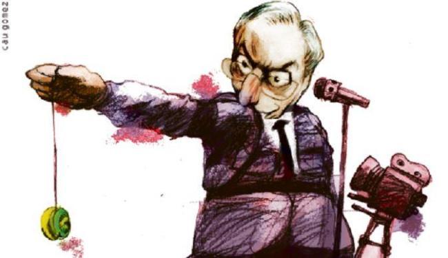 Jarbas Vasconcelos (PMDB) critica o presidente da Câmara, Eduardo Cunha - Foto: Cau Gomez l Editoria de Arte A TARDE