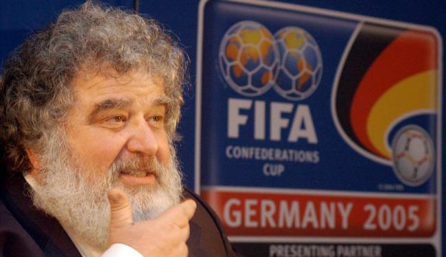 Chuck Blazer foi expulso da Fifa em 2013, após ter sido pego desviando dinheiro da Concacaf - Foto: Bernd Kammerer | AP