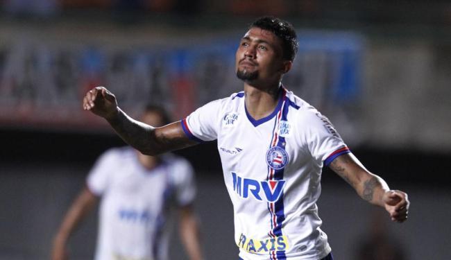 Kieza foi autor do segundo gol do Bahia - Foto: Lúcio Távora | Ag. A TARDE