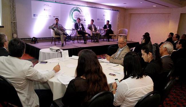 Evento reuniu representantes de Camaçari e empresários - Foto: Luciano da Matta l Ag. A TARDE