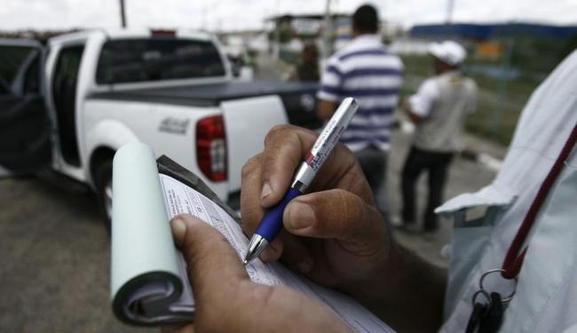 Blitz em Brumado abordou 130 condutores - Foto: Luiz Tito | Ag. A TARDE