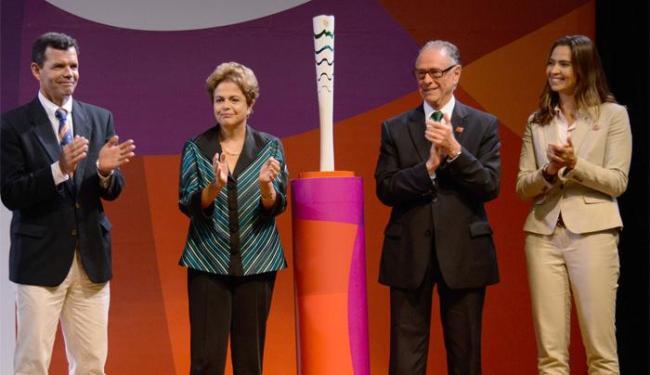 No encontro, Dilma fez questão de reafirmar que as obras para a Olimpíada estão em dia - Foto: Alex Ferro | Rio 2016