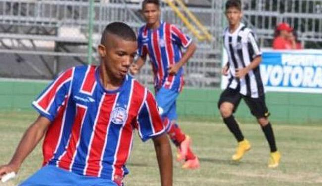 Dimitri é o único do Nordeste para compor a Seleção Sub-15 - Foto: Divulgação | E.C.Bahia