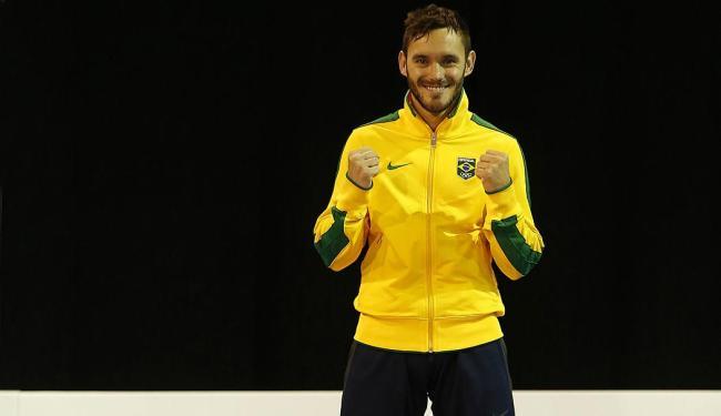 Karateca Douglas Brose conquistou uma das medalhas de ouro do Brasil - Foto: Geoff Burke | USA Today Sports | Reuters | 23.07.2015