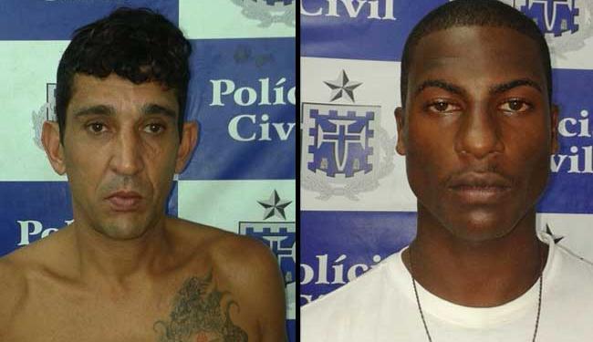 Herval e Erick foram autuados por tráfico de drogas - Foto: Ascom | Polícia Civil