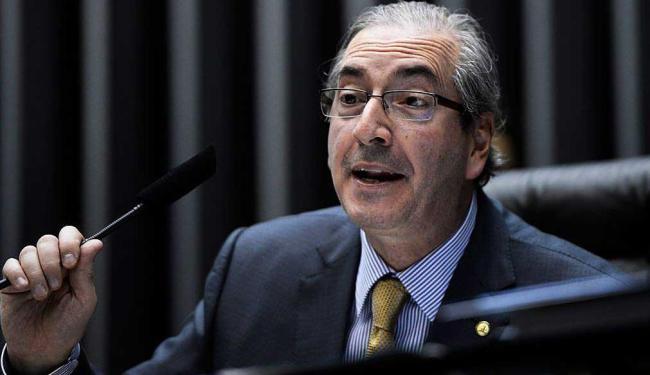 O presidente da Casa, Eduardo Cunha (PMDB-RJ), ficou em silêncio ao ver o resultado - Foto: Wilson Dias | Agência Brasil
