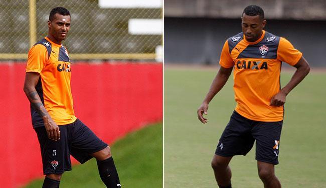 Mancini admite escalar os dois jogadores - Foto: Eduardo Martins e Joá Souza | Ag. A TARDE