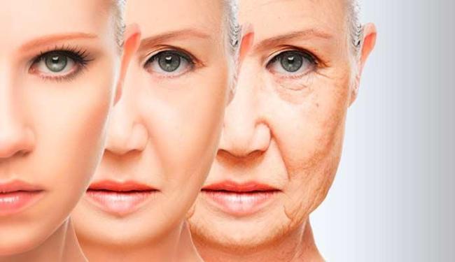 Diferentes taxas de envelhecimento podem ser detectadas logo em meados dos 20 anos - Foto: Reprodução