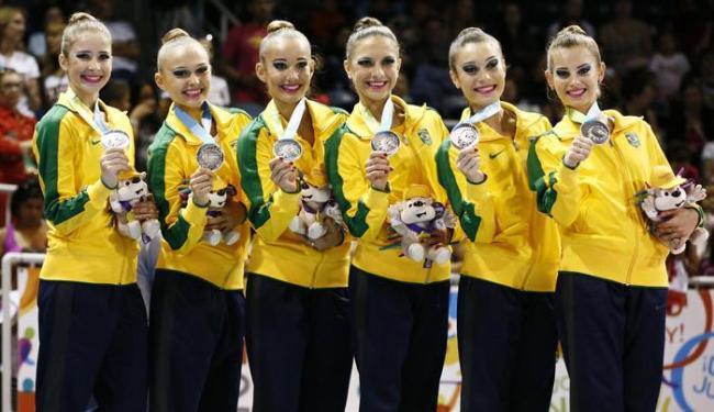 Equipe brasileira não confirma favoritismo e leva medalha de prata no Pan 2015 - Foto: Rob Schumacher-USA TODAY Sport | Reuters