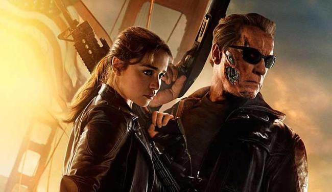 O Exterminador do Futuro - Gênesis é estrelado por Arnold Schwarzenegger e Emilia Clarke - Foto: Divulgação