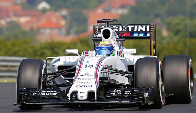 Felipe Massa fez apenas o 10º melhor tempo do dia nos treinos livres do GP da Hungria - Foto: Laszlo Balogh l Reuters