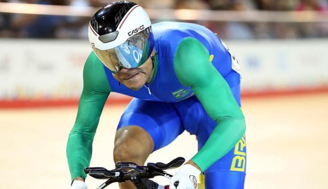 Gideoni Monteiro é o segundo colocado do ciclismo de pista na prova Omnium - Foto: Matt Detrich-USA TODAY Sports   Reuters
