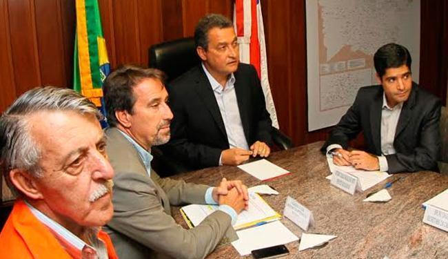 Ministro se reuniu com o prefeito e o governador em abril após mortes em decorrência da chuva - Foto: Manu Dias | GOVBA | Divulgação