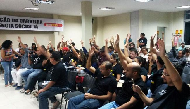 Servidores federais decidiram por greve em assembleia realizada no último sábado, 4 - Foto: Divulgação