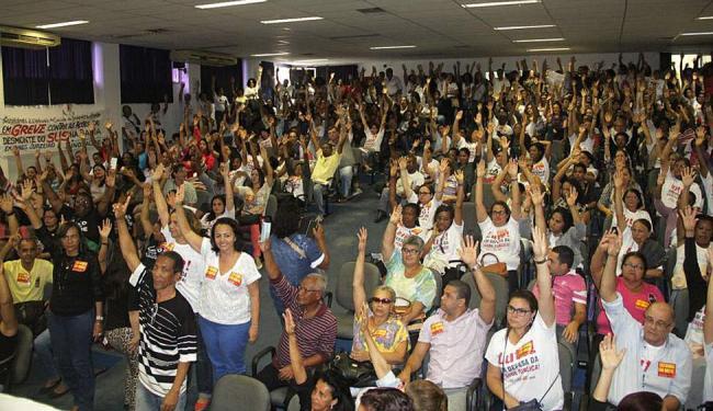 Assembleia reuniu profissionais da capital e do interior - Foto: Carlos Américo Barros | SindSaúde