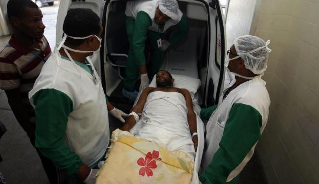 O pedreiro Jossiel Lima de Sá, 36 anos, foi confirmado com a doença em junho - Foto: Luiz Tito | Ag. A TARDE