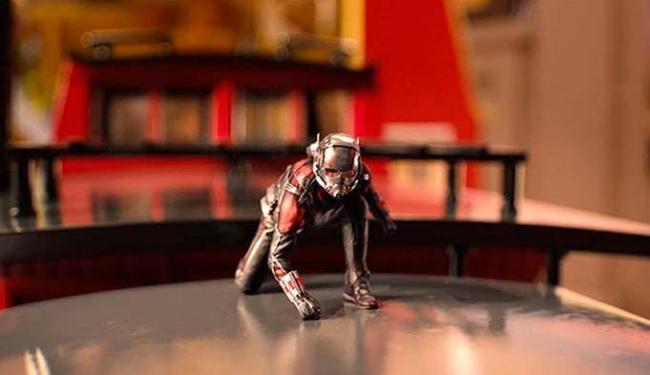 Homem-Formiga encolhe e fica do tamanho de uma... formiga - Foto: Divulgação